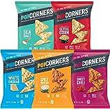 Popcorners Snacks 5 Flavor Variety Pack, Gluten Free Chips, 1oz Bags (20 Pack)