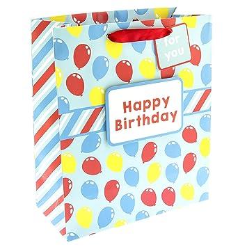 Graphique Birthday Balloons Gift Bag