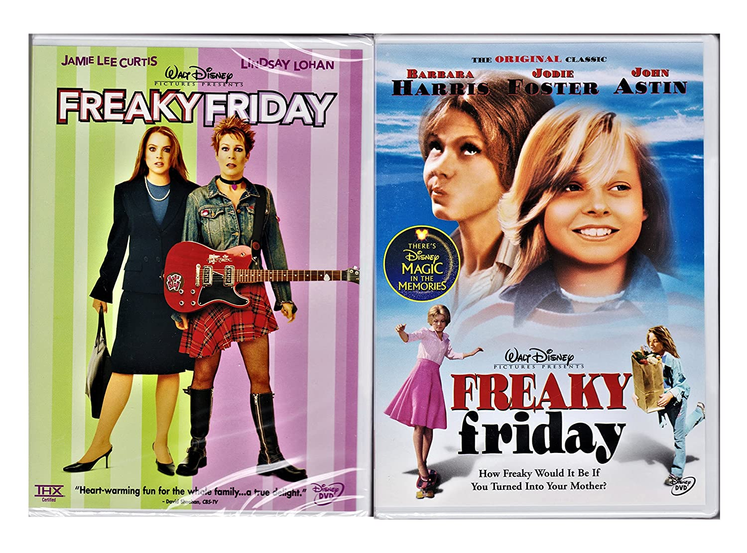 Freaky Friday 2-pack 1977 & 2003 Versions by Walt Disney Home ...
