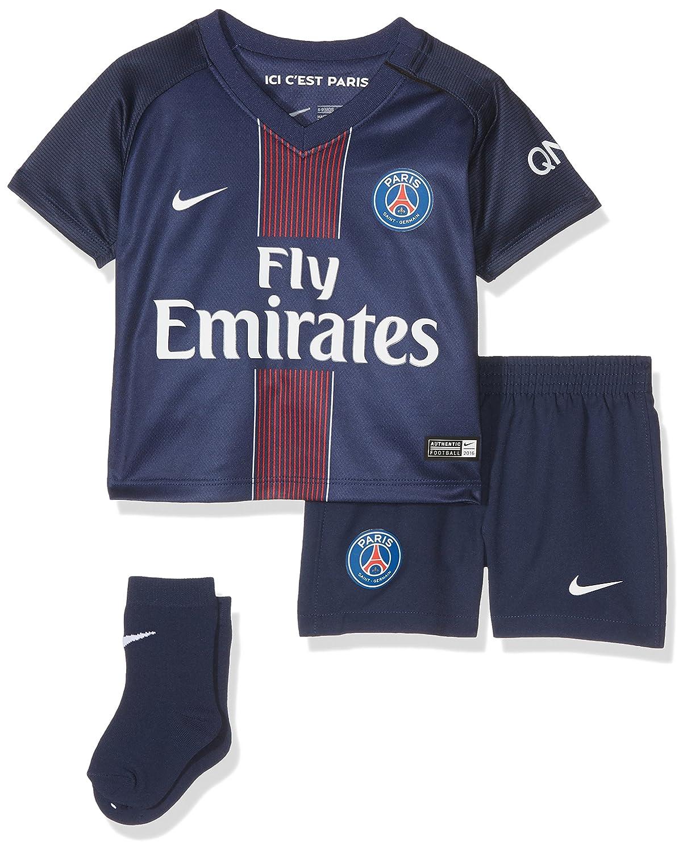 Nike PSG Inf Hm Kit - Ausrüstung 16-17 Linie Paris Saint Germain für