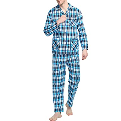 GLOBAL Mens Flannel Pajamas 2976c3ada