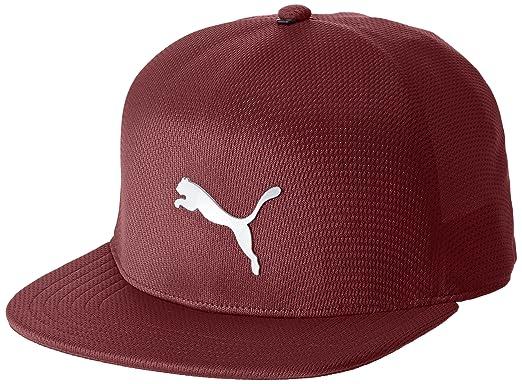Puma - Gorra de béisbol - para hombre Rojo Pomegranate M/L: Amazon.es: Ropa y accesorios