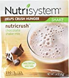 Nutrisystem Nutricrush Chocolate Shake Mix New & Improved 5 Count, 1.4 Ounces