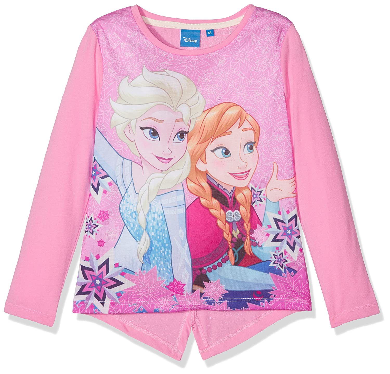 Disney Frozen Girl's Frozen Northen Lights Long Sleeve Top