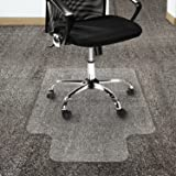 Carpet Floor Chair Mat Protector Office Computer Work ChairMat Thick Vinyl Plastic 1200 x 900mm