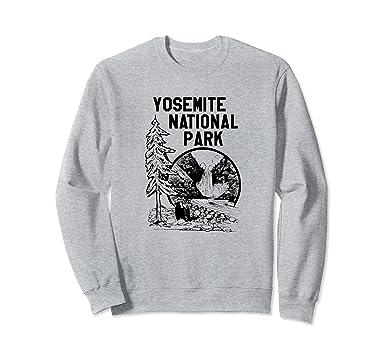 78e26cb3a Yosemite National Park Sweatshirt Vintage US Parks Shirt