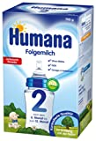 Humana Folgemilch 2 mit GOS, 1er Pack (1 x 700 g)