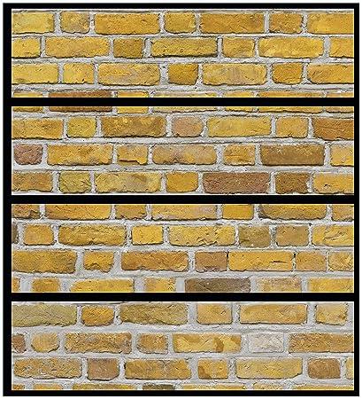 Wall Ario Muebles Protector adhesivo, adecuado para cómoda de Ikea Malm – pared ladrillo en