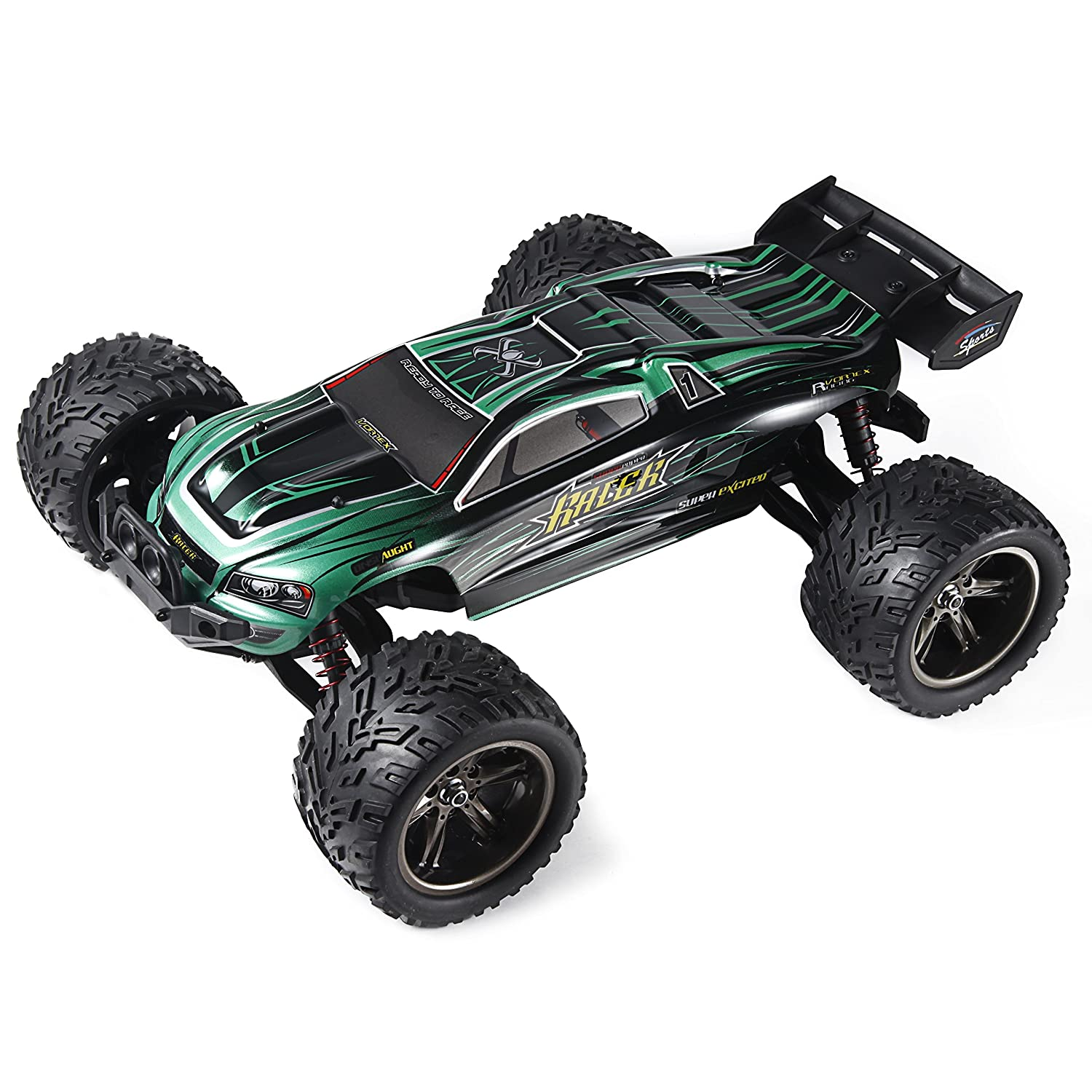Amazon Com Hosim Rc Car 9122 38km H 1 12 Scale Off Road Full