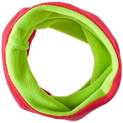 ZANheadgear Microfleece Neck Warmer (Hot Pink Reverses to High-Vis Lime, One Size)