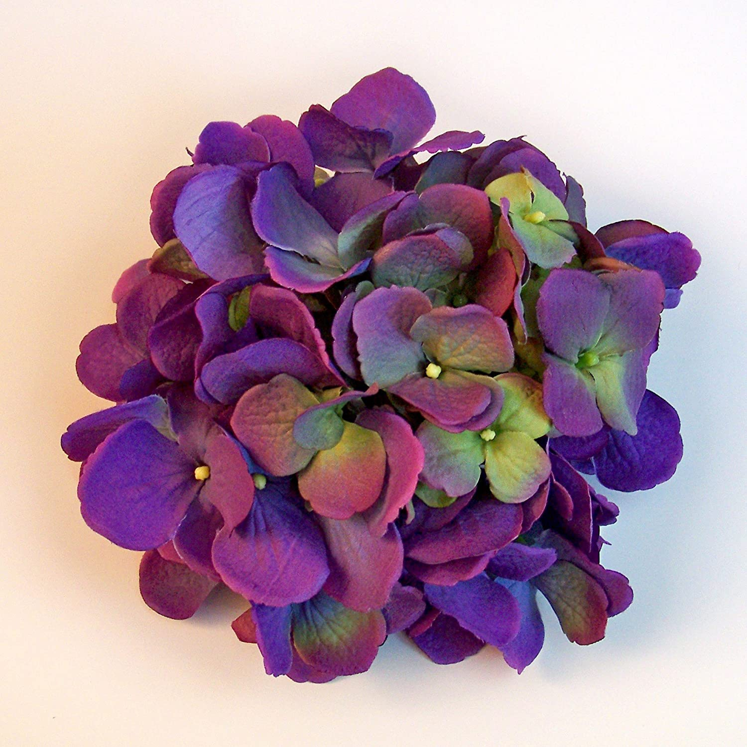 asp violet vintage p hand flower brooch embroidered