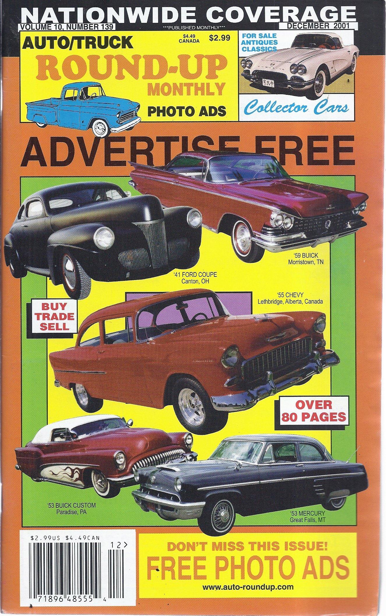 Download Auto/Truck Round-Up Monthly (December 2001) pdf epub