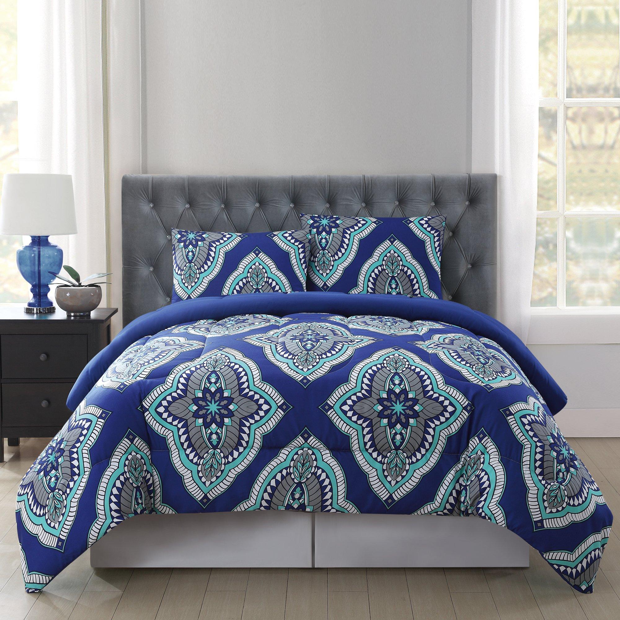 Truly Soft Everyday Design Comforter Set, King, Harper
