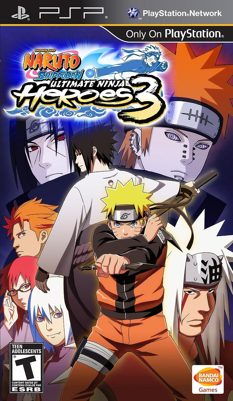Amazon.com: Naruto Shipuden: Ultimate Ninja Heroes 3 - Sony ...