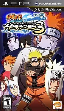 Naruto Shipuden: Ultimate Ninja Heroes 3 - Sony PSP