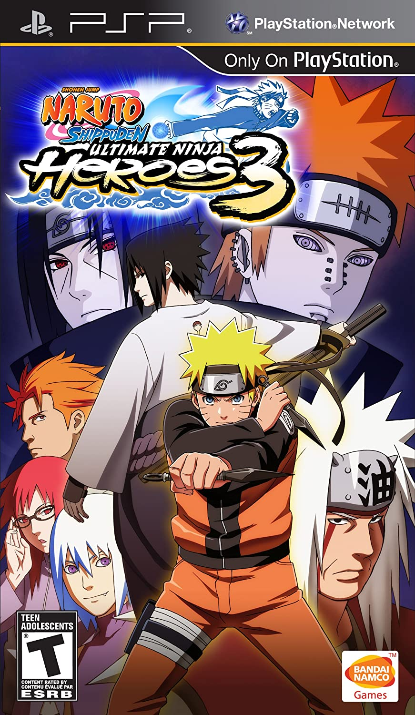 Amazon Com Naruto Shipuden Ultimate Ninja Heroes 3 Sony Psp Video Games