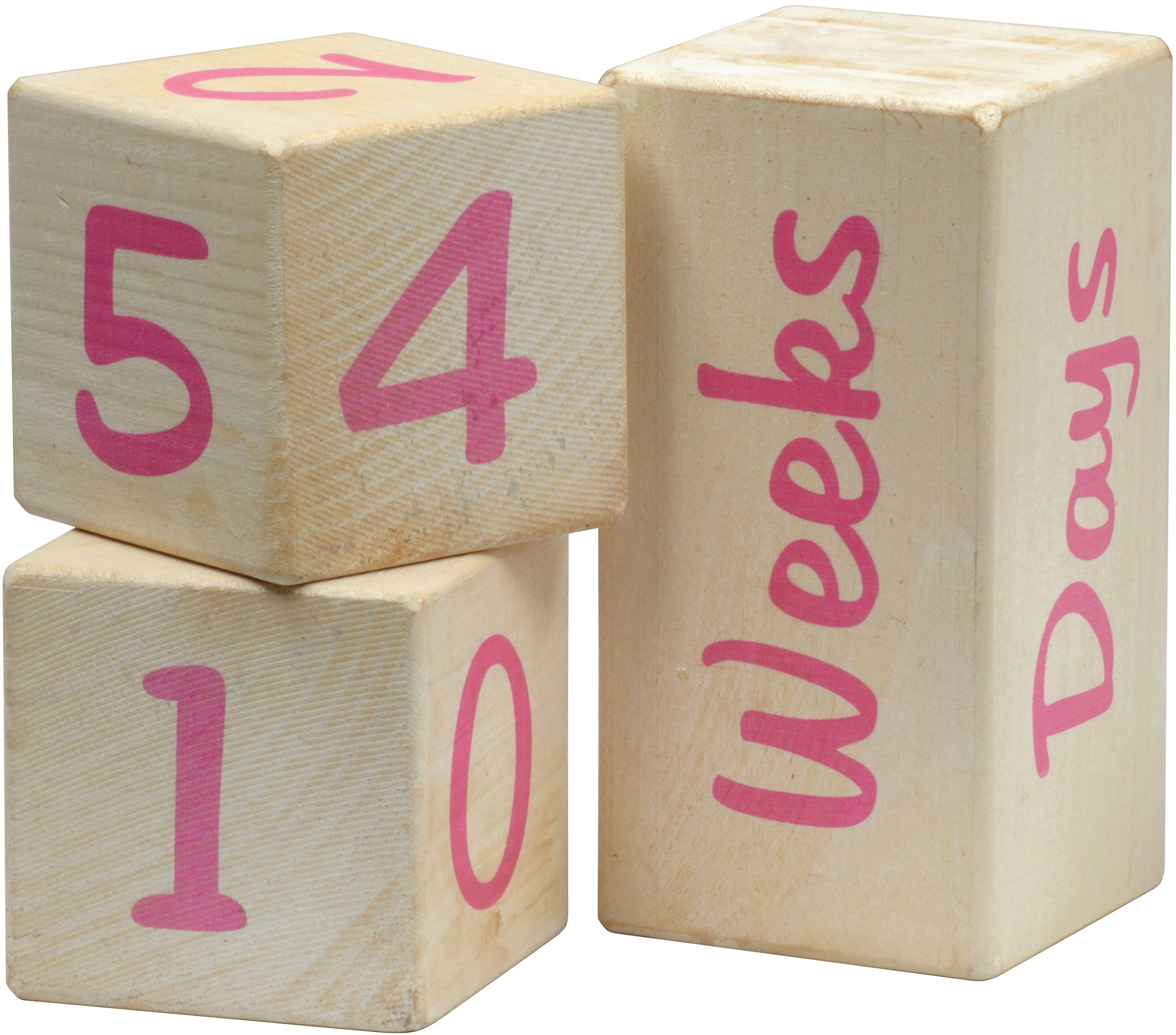 Portrait Prop Blocks - Pink - Made in USA