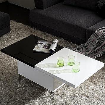 Sheela High Gloss Extendable Coffee Table Amazon Co Uk Kitchen