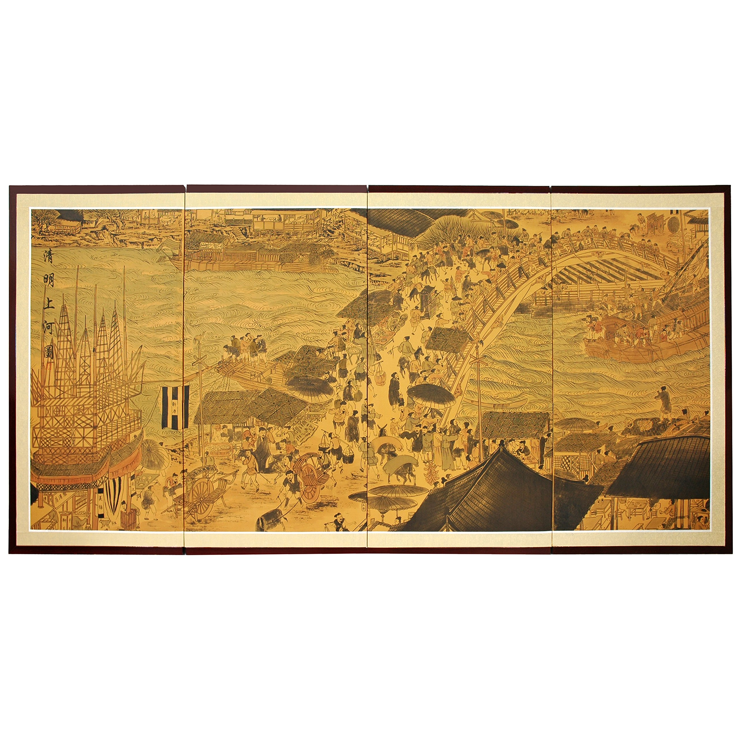 Oriental Furniture 36'' Ching Ming Festival