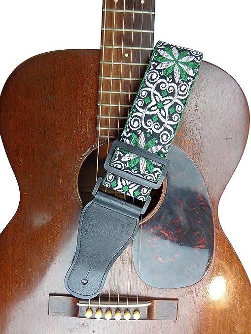 Correa para guitarra eléctrica acústica de estilo vintage, color ...