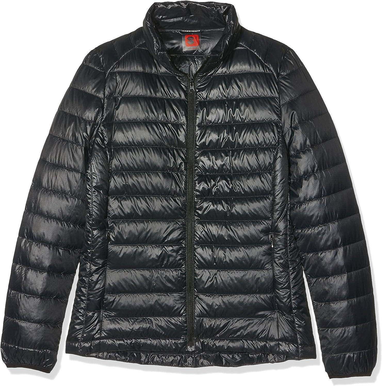 HUKOER Chaqueta de pluma de Invierno plumón para mujer Compresible Ligero Acolchada terciopelo de pato abrigo chaqueta abajo