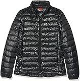 HUKOER Doudoune sport mode Femme veste d'automne et d'hiver - Blouson ou Doudoune chaude courte à la mode - doudoune Léger de Ski et Montagne et Alpinisme doudoune chic fine pour femme