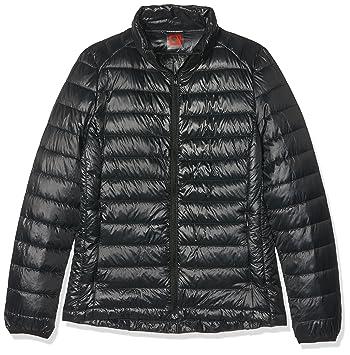 HUKOER Chaqueta de pluma de Invierno plumón para mujer Compresible Ligero Acolchada terciopelo de pato abrigo chaqueta abajo (Negro, S): Amazon.es: Deportes ...