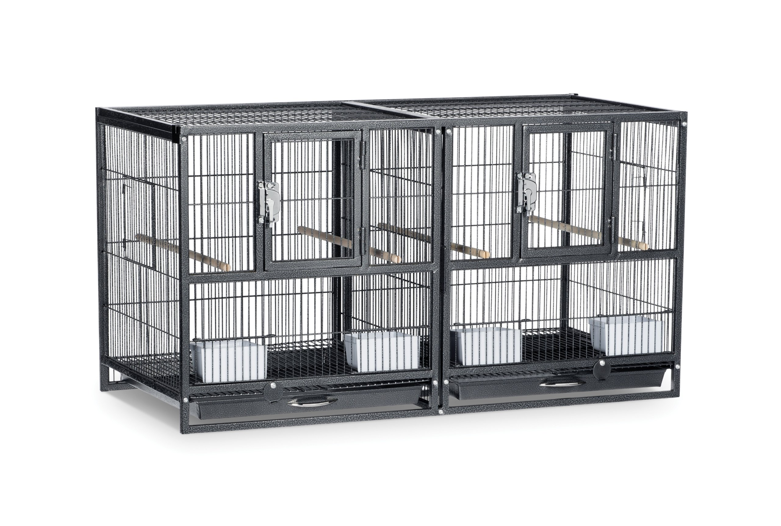Prevue Pet Products F075 Hampton Deluxe Divided Breeder Cage by Prevue Pet Products