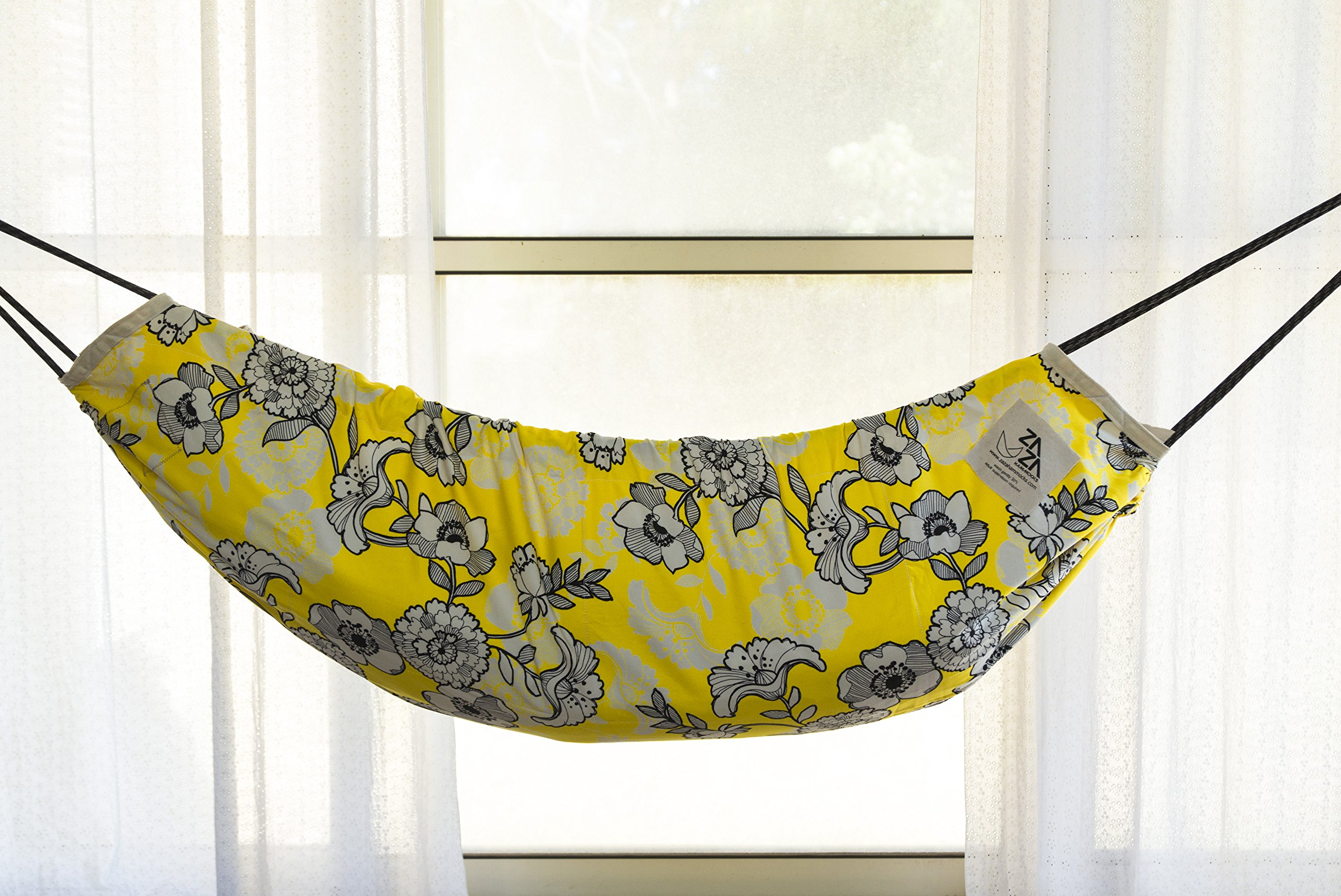 Baby Hammock Swing. Reversible Designer Fabric . Zaza Nature Baby Nest, Swinging Seat Hammock For Babies, Children and Teenagers.