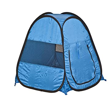 ALEKO PT25Blue Pop Up Portable Pet Tent 25u0026quot; ...  sc 1 st  Amazon.com & Amazon.com : ALEKO PT25Blue Pop Up Portable Pet Tent 25