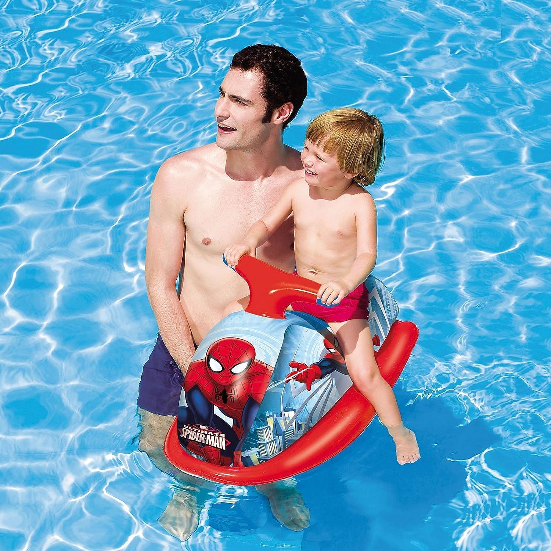 98012 Juguete hinchable moto de agua SPIDERMAN Bestway: Amazon.es: Juguetes y juegos