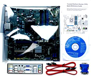 Intel Desktop Board BLKDQ77MK - Media Series - Motherboard - Micro ATX - LGA1155 Socket - Q77