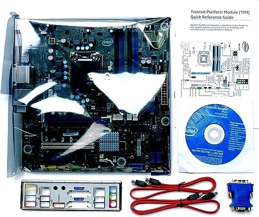 Intel medios DQ77MK escritorio placa base – Intel Q77 Express Chipset – Socket H2 LGA-1155 – 10 x Bulk Pack – Micro ATX – Procesador de 1 x apoyo – 32 GB