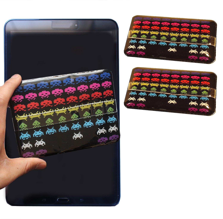 Space Invaders 1 Jumbo Plasma TV + 2 portátil limpiador de pantalla de microfibra (3 unidades) para LCD Tablet PC iPad Macbook ordenador placa de microfibra ...