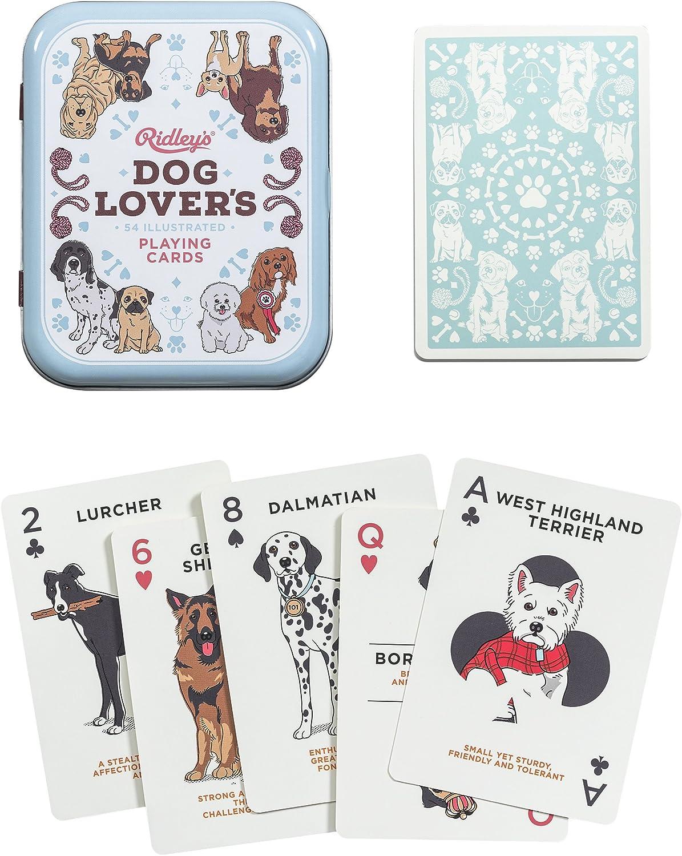 baraja de cartas de perros