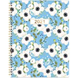 "2021 Monthly Planner - 18-Month Planner with Tabs & Pocket & Label, Contacts and Passwords, 8.5"" x 11"", Thick Paper, Jan…"