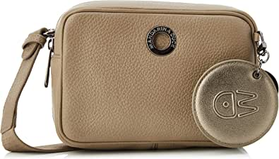 Mandarina Duck Mellow Leather, Bolso Bandolera para Mujer, 6x12x18 Centimeters (W x H x L)