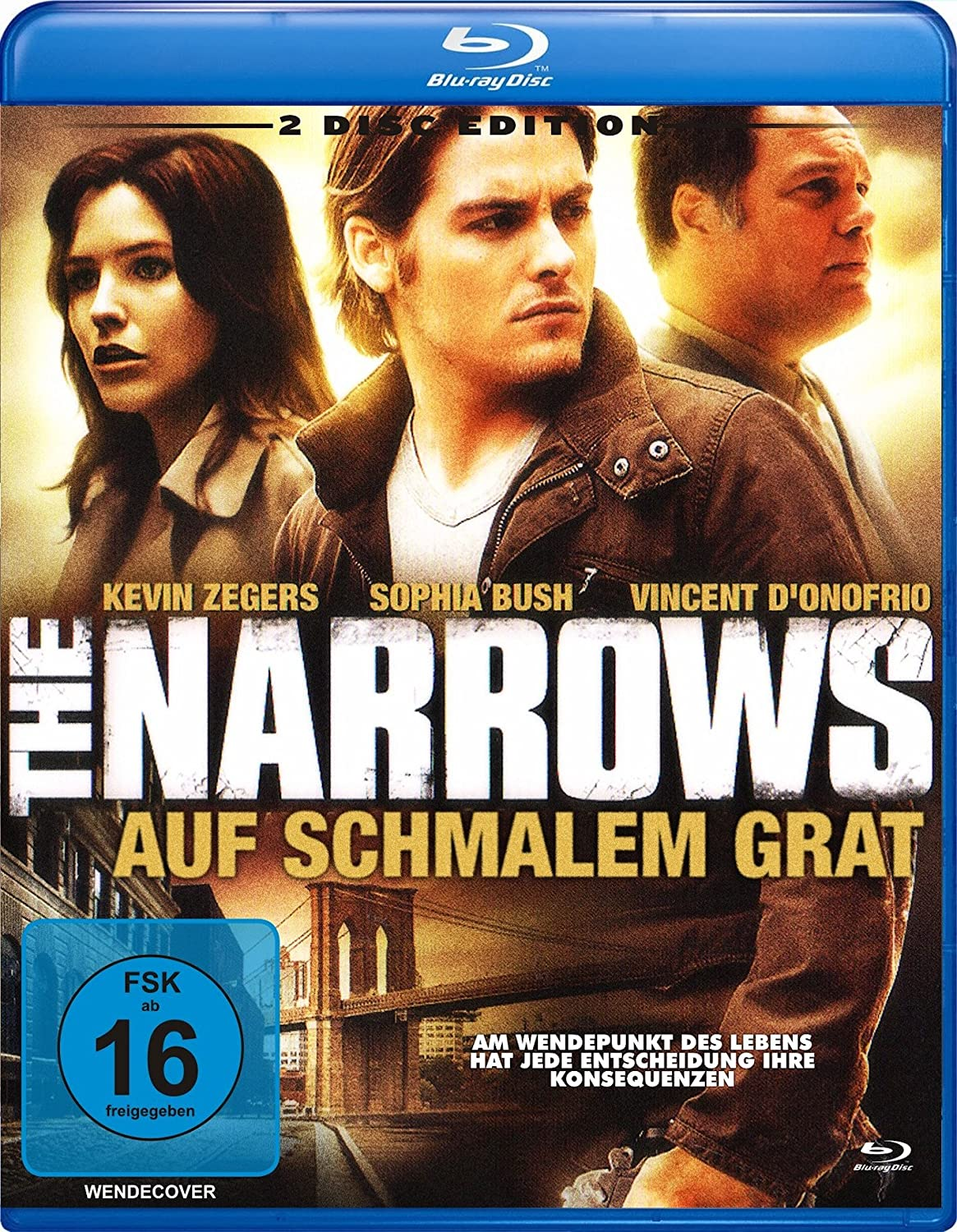 The Narrows - Auf schmalem Grat (Blu-ray) [Alemania] [Blu-ray]