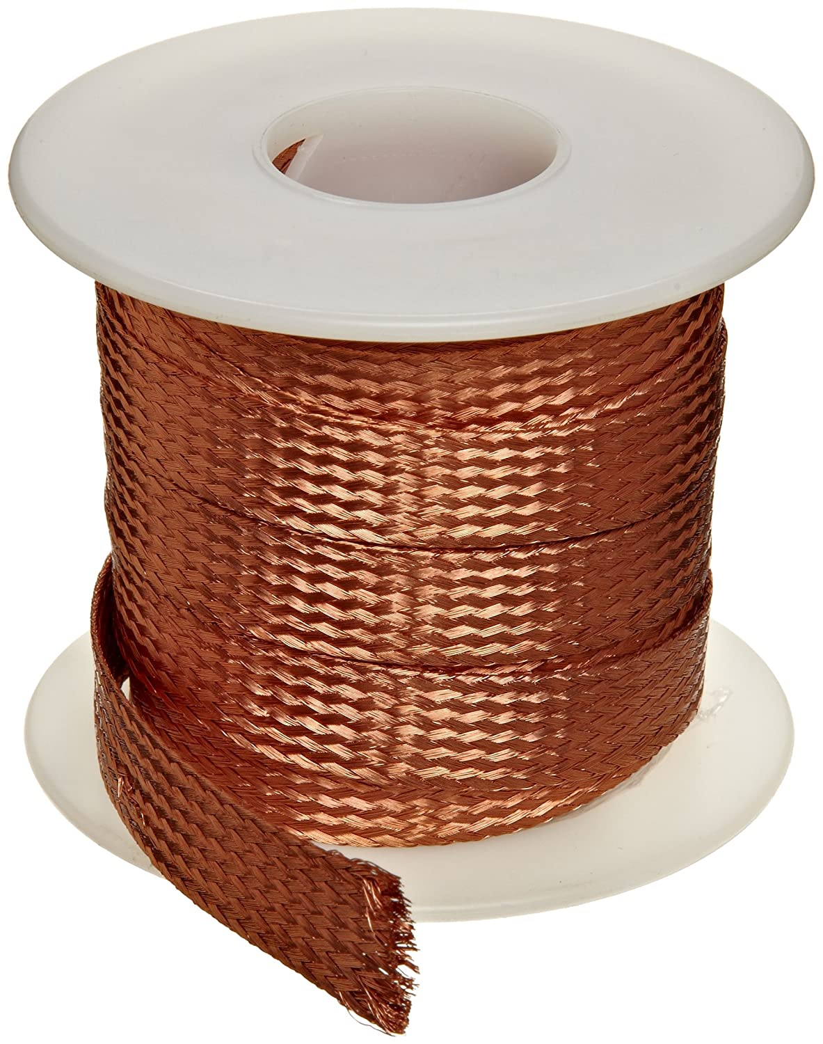 Flat Bare Copper Braid: Electronic Component Wire: Amazon.com ...