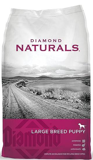 Puppy Diamond Dog Food >> Amazon Com Diamond Naturals Dry Food For Puppy Large Breed Lamb