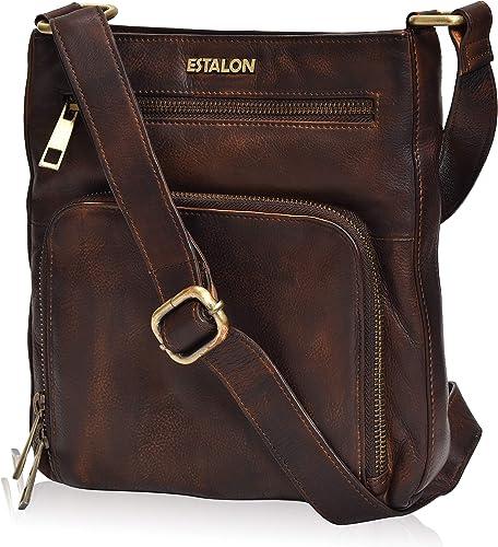 Large Solid Color Messenger Cross Body Side Shoulder Bag Purse Travel Handbag