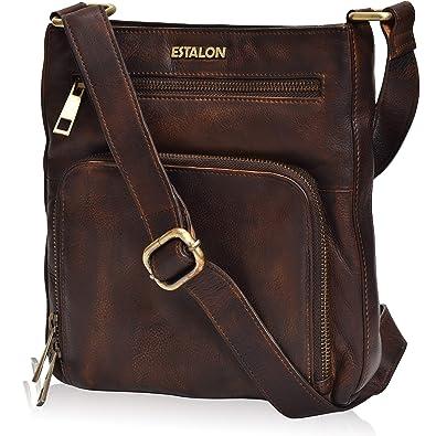 Amazon.com: Bolsas para mujer con cuerpo cruzado y bolsos ...