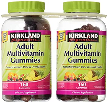 Kirkland Signature Adult Multivitamin Gummies: 320 Gummies