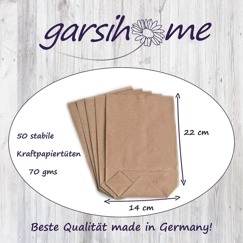 Garsihome/® 100 Aufkleber Danke