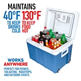K-box Electric Cooler and Warmer with Wheels for