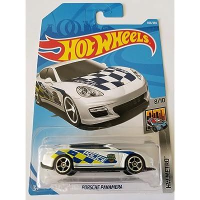 Hot Wheels 2020 Hw Metro 8/10 - Porsche Panamera (White - Police): Toys & Games [5Bkhe0706312]