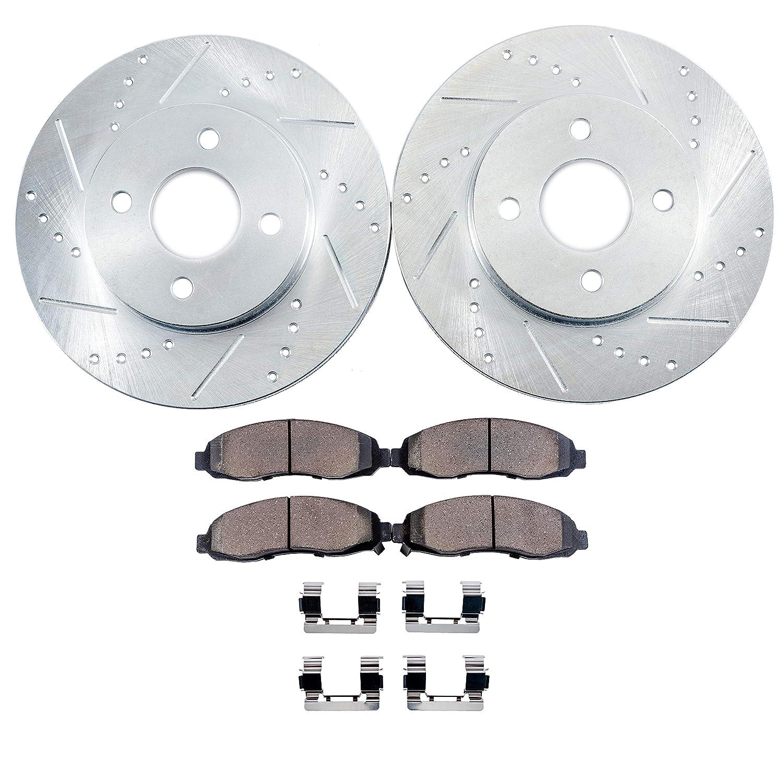 OE Series Rotors + Ceramic Pads Max Brakes Rear Premium Brake Kit Fits: 2011 11 2012 12 2013 13 Nissan Altima KT018742