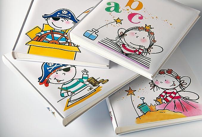 Walther Design FA-267-1 álbum de los niños Hada jardín de Infancia, 50 páginas Blancas, 28 x 30,5 cm, Colorido