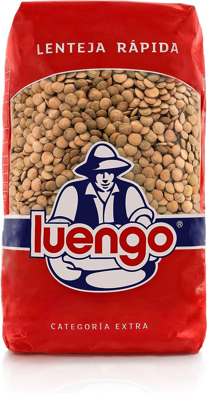 Luengo - Lenteja Rápida - 1 kg - [Pack de 2]: Amazon.es: Alimentación y bebidas