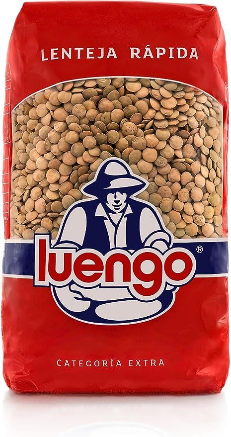Luengo - Lenteja Rápida - 1 kg - [Pack de 2]
